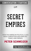 Secret Empires: How the American Political Class Hides Corruption and Enriches Family and Friends by Peter Schweizer | Conversation Starters