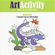 Art activity. Dinosauri