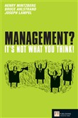 management? it's not what...