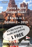 A Disney World Combo Book! 3 Books in 1
