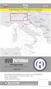 Avioportolano. VFR flight chart LI 1 Italy north. Ediz. bilingue