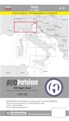 Avioportolano. VFR flight chart LI 2 Italy Po valley. Ediz. bilingue