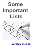 some important lists