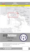 Avioportolano. VFR flight chart LI 3 Italy north-central. Ediz. bilingue