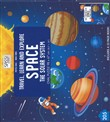 Space. The solar system. Travel, learn and explore. Libro puzzle. Ediz. a colori. Con puzzle