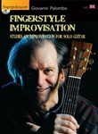 Fingerstyle improvisation. Studies on improvisation on solo guitar. Con DVD