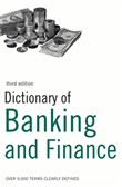 dictionary of banking and...
