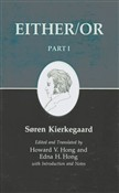 Kierkegaard's Writings, III, Part I: Either/Or. Part I