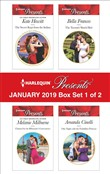 Harlequin Presents January 2019 - Box Set 1 of 2