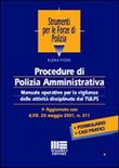 Procedure di polizia amministrativa