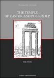 The temple of Castor and Pollux. Vol. 2: The finds