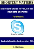 Microsoft Skype For Business 2016 Keyboard Shortcuts for Windows