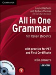 All in One Grammar for Italian Students with Answers and Audio CDs 2