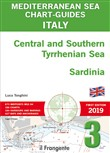 Italy Central and Southern Tyrrhenian Sea, Sardinia. Mediterranean sea chart-guide. Ediz. multilingue. Vol. 3