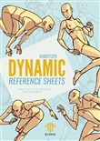 Dynamic reference sheets. Poses in action for artists and aspiring designers