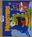 Monsters. Book and concentration game