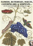 Flowers, butterflies, insects, caterpillars & serpents... From the superb engravings of Sybilla Merian and Moses Hariss