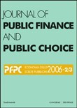 Journal of public finance and public choice (2006) vol. 2-3. Ediz. illustrata