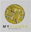 My Vienna book-note. A journey is your story. Con Carta geografica