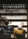 L'università per il patto educativo. Percorsi di studio