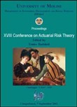 XVIII conference on actuarial risk theory