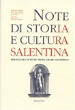 Note di storia e cultura salentina (2018). Vol. 28