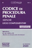 501/1 - Codice di Procedura Penale e leggi complementari – Editio Minor