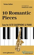 10 Romantic Pieces - Easy for Alto Saxophone and Piano