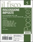 Pocket (2008). Vol. 5: Supplemento speciale alla rivista «Il fisco» n. 38 del 13 ottobre 2008