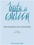 Rivista di estetica (2016). Vol. 63: Intermediality and interactivity
