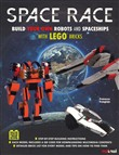 Space race. Build your own robots and spaceships with Lego bricks