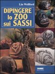 Dipingere lo zoo sui sassi