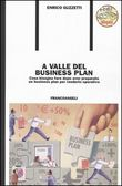 A valle del business plan