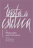 Rivista di estetica (2019). Vol. 70: Philosophy and Literature