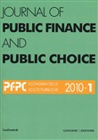 Journal of public finance and public choice (2010) Vol. 1