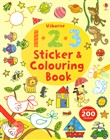 123 sticker and colouring...