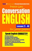 Preston Lee's Conversation English For Latvian Speakers Lesson 21: 40