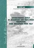 Socioeconomic impact of decoupling and food-chain perspective. Some indications from Italy