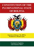 Constitution of the Plurinational State of Bolivia