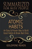 atomic habits - summarize...