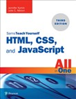 html, css, and javascript...