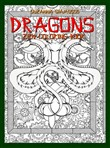 Dragons: Zen Coloring Book