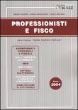 Professionisti e fisco 2004