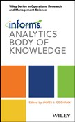 INFORMS Analytics Body of Knowledge