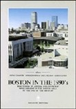 Boston in the 1990's. Territorial planning and economic development in the Boston area to the end of the century