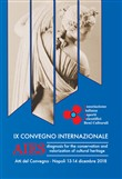 AIES. Diagnosis for the conservation and valorization of cultural heritage. Atti del IX Convegno. Ediz. italiana e inglese