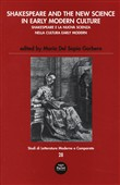 Shakespeare and the new science in early modern­Shakespeare e la nuova scienza nella cultura early modern