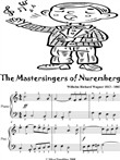 Mastersingers of Nuremberg Easy Piano Sheet Music