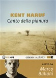 Canto della pianura letto da Marco Baliani. Audiolibro. CD Audio formato MP3