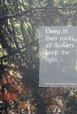 Deep in their roots, all flowers keep the light. Ediz. illustrata